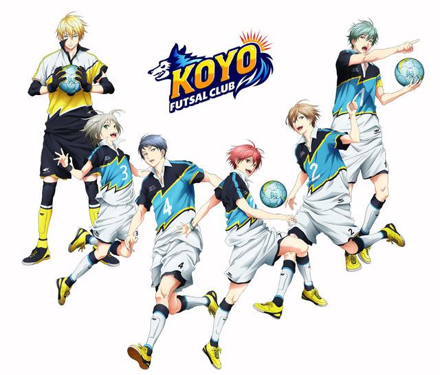 『フットサルボーイズ!!!!!』恒陽学園選手イラスト(C)FUTSAL BOYS!!!!! ORIGINAL WORK