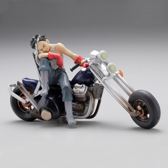 「miniQ『AKIRA』PART.2 鉄雄」鉄雄とバイク 680円(税別)(C)MASH・ROOM/KODANSHA (R)KODANSHA