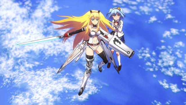 『Z/X Code reunion』Code 02.「ドライブシャフト起動!」先行カット(C)Z/X Code reunion製作委員会