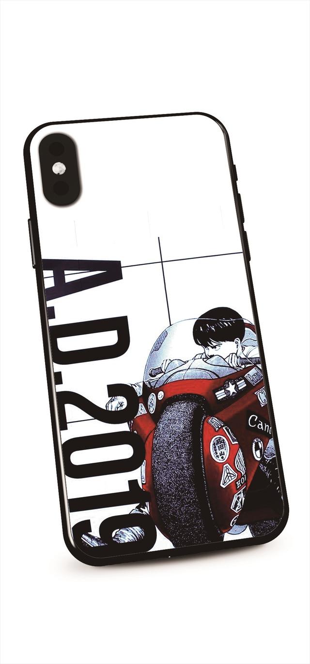 「AKIRA ART OF WALL Otomo Katsuhiro×Kosuke Kawamura AKIRA ART EXHIBITION」iPhoneケース 価格:¥3,500  (X、XS対応)