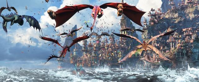 『ヒックとドラゴン 聖地への冒険』(C)2019 DreamWorks Animation LLC.  All Rights Reserved.