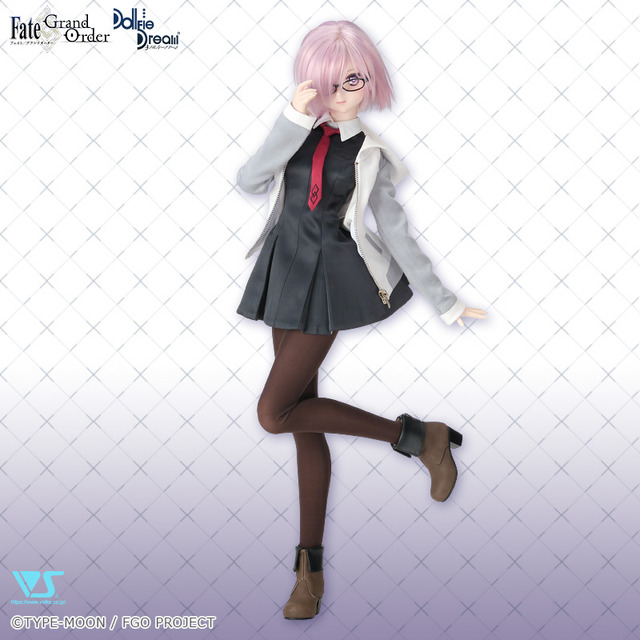 「Dollfie Dream シールダー/マシュ・キリエライト」65,000円(税別)(C)TYPE-MOON / FGO PROJECT 「創作造形(C)ボークス・造形村」(C)2003-2019 VOLKS INC. All rights are reserved.