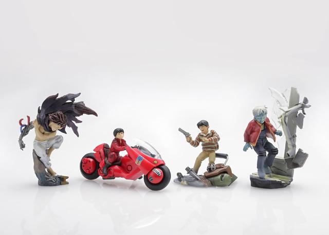 「miniQ AKIRA PART.1 『金田』」単品:680円(税別)BOX(6個入):4080円(税別)(C)MASH・ROOM/KODANSHA (R)KODANSHA