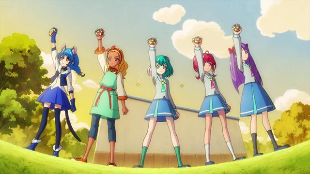 「『スター☆トゥインクルプリキュア』第40話 先行場面カット」(C)ABC-A・東映アニメーション