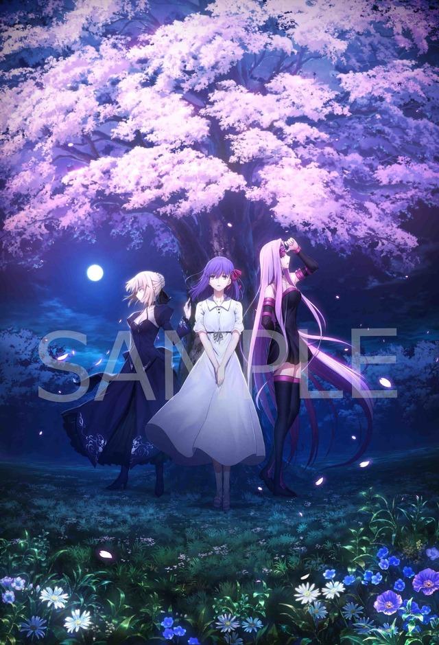 「『劇場版「Fate/stay night [Heaven's Feel]」III.spring song』特典ビジュアル」(C)Fate_SN_Anime