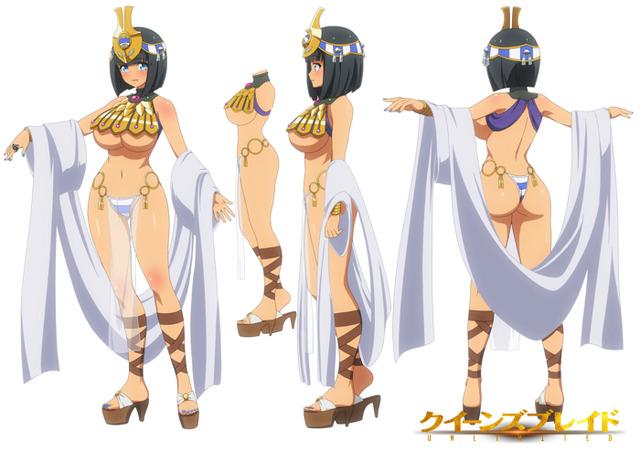 『クイーンズブレイドUNLIMITED』古代の王女メナス(C)HobbyJAPAN