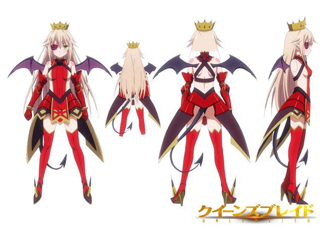 『クイーンズブレイドUNLIMITED』逢魔の女王アルドラ(C)HobbyJAPAN