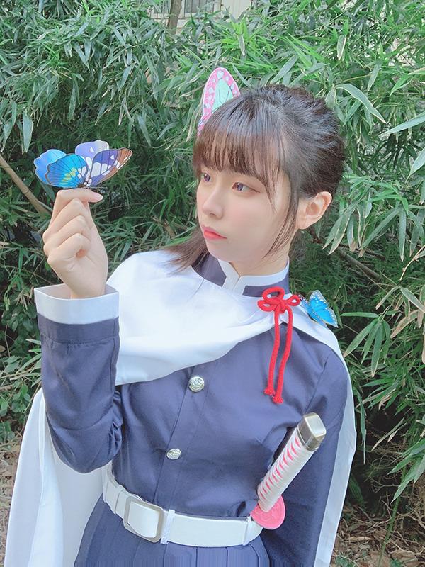 『鬼滅の刃』栗花落カナヲ/画像提供:ホリプロインターナショナル