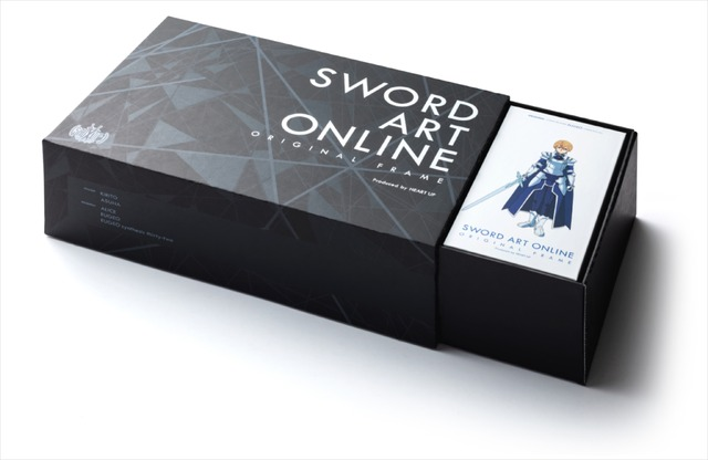 「SWORD ART ONLINE ORIGINAL FRAME アリシゼーションコレクション」300 セット限定コンプリートボックス38,160 円(税別)(C)2017 川原 礫/KADOKAWA アスキー・メディアワークス/SAO-A Project