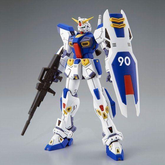 「MG 1/100 ガンダムF90」4,400円(税込)(C)創通・サンライズ
