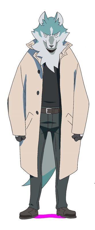 『BNA ビー・エヌ・エー』大神士郎(獣人ver)(C)2020TRIGGER・中島かずき/『BNA ビー・エヌ・エー』製作委員会