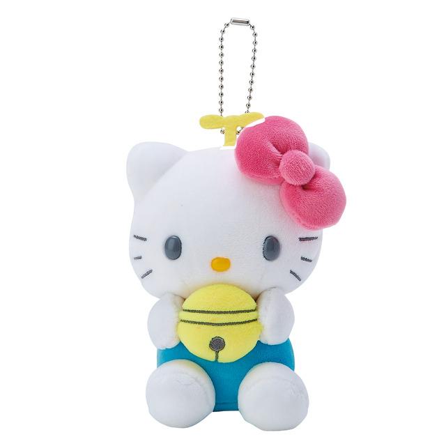 「DORAEMON HELLO KITTY」マスコットホルダー ハローキティ|1,980円(C)Fujiko-Pro (C)'76, '19 SANRIO . 著作(株)サンリオ