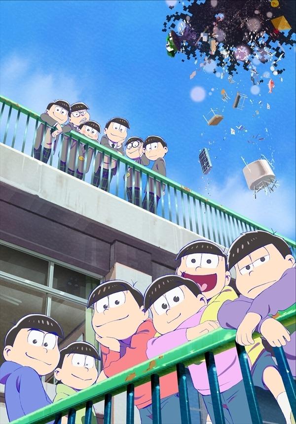 『えいがのおそ松さん』メインビジュアル(C)赤塚不二夫/えいがのおそ松さん製作委員会 2019