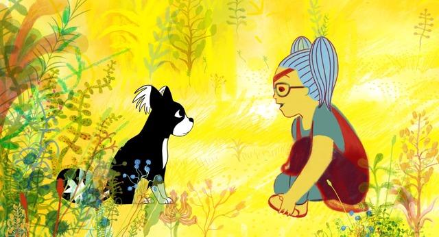 「マロナの幻想的な物語り」(Marona's Fantastic Tale)(C)Aparte Film, Sacrebleu, Minds Meet