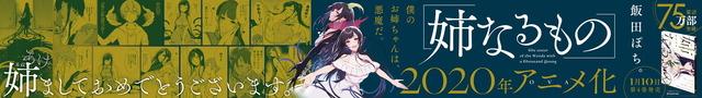 『姉なるもの』新宿駅広告イメージ(C)2020 飯田ぽち。 /テケリスタジオ/KADOKAWA/姉なるもの製作委員会