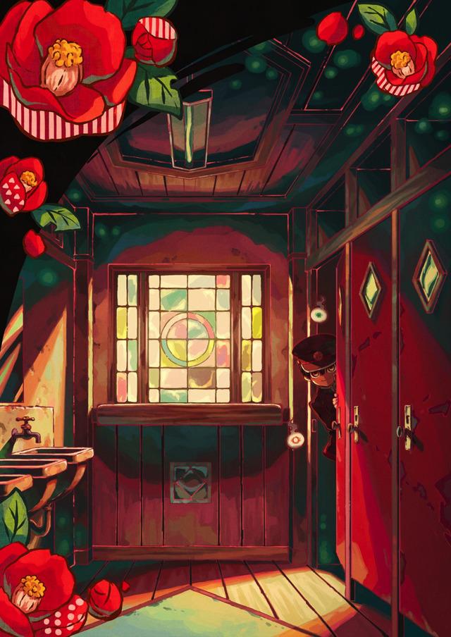 『地縛少年花子くん』ティザービジュアル(C)あいだいろ SQUARE ENIX・「地縛少年花子くん」製作委員会