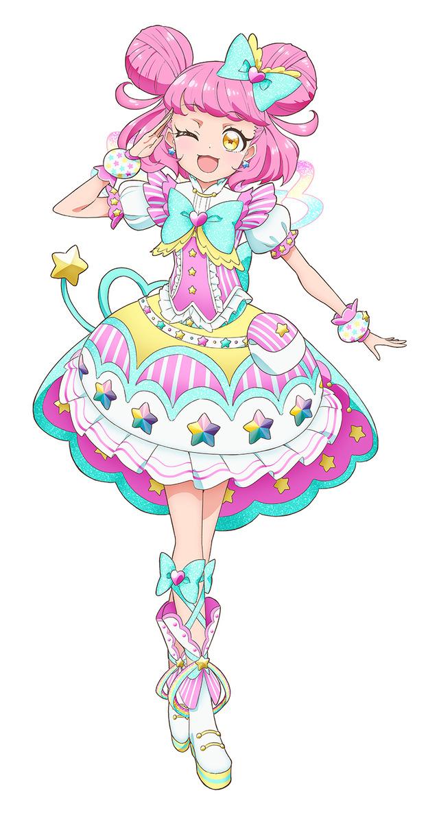 『キラッとプリ☆チャン』シーズン3 キラッCHU(C)T-ARTS / syn Sophia / テレビ東京 / PCH3製作委員会