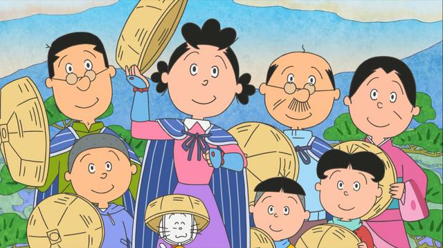 「『サザエさん』サザエさん旅あるき」(C)長谷川町子美術館