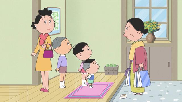 「『サザエさん』母さんの忘れ物」(C)長谷川町子美術館
