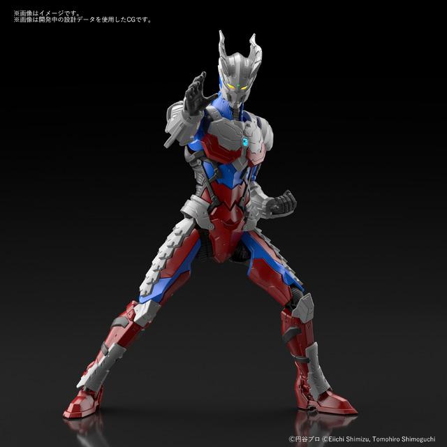 「Figure-rise Standard ULTRAMAN SUIT ZERO -ACTION-」価格:3,520円(税込)(C)円谷プロ(C)Eiichi Shimizu,Tomohiro Shimoguchi(C)ULTRAMAN 製作委員会