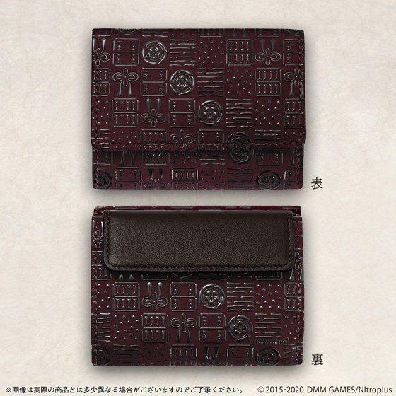 「三つ折り財布・へし切長谷部モデル」22,000円(税込)(C)2015-2020 DMM GAMES/Nitroplus