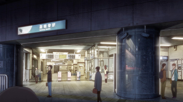 「TVアニメ『イエスタデイをうたって』舞台設定」(C)冬目景/集英社・イエスタデイをうたって製作委員会