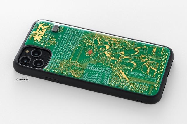 「FLASH スコープドッグ 基板アート iPhone 11 Pro Maxケース」価格    :16,000円(税別)(C)サンライズ