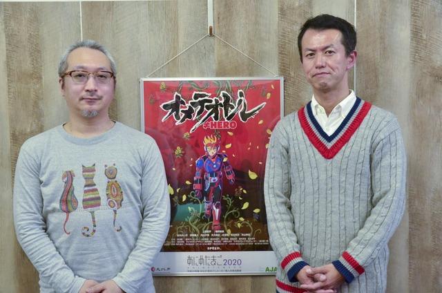 プロデューサー/脚本の森田淳也氏と粟津順監督