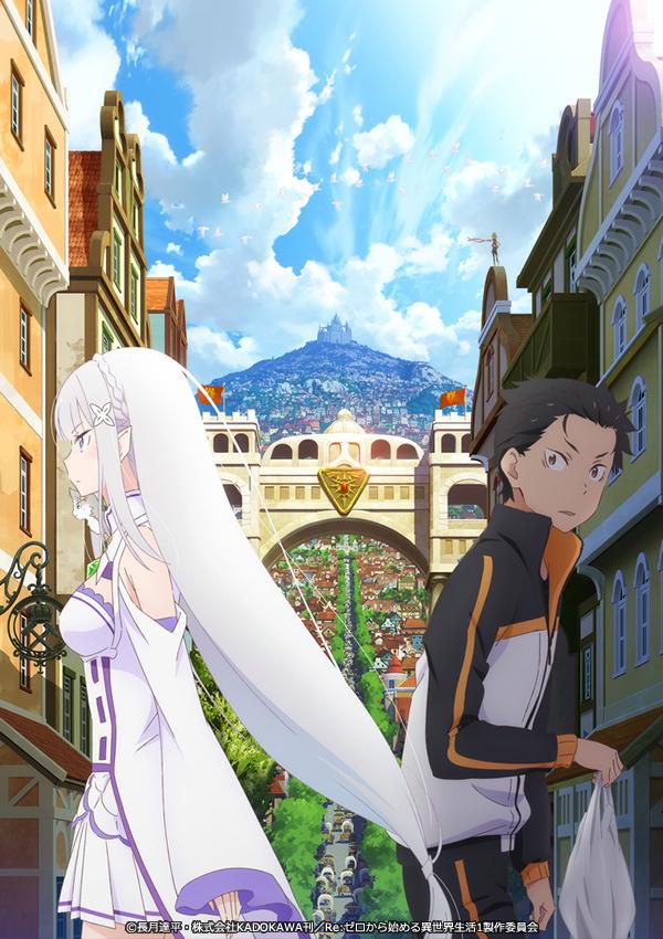 「『Re:ゼロから始める異世界生活』第1期新編集版」(C)Tappei Nagatsuki,KADOKAWA/Re:ZERO1 PARTNERS