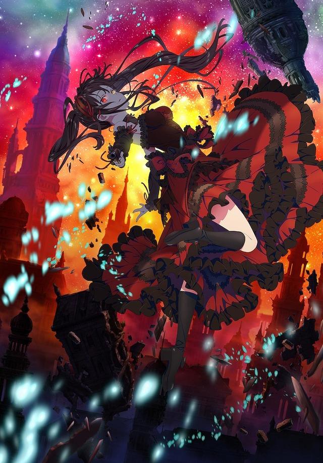 「『デート・ア・バレット』アニメキービジュアル」(C)2020 東出祐一郎・橘公司・NOCO/KADOKAWA/「デート・ア・バレット」製作委員会
