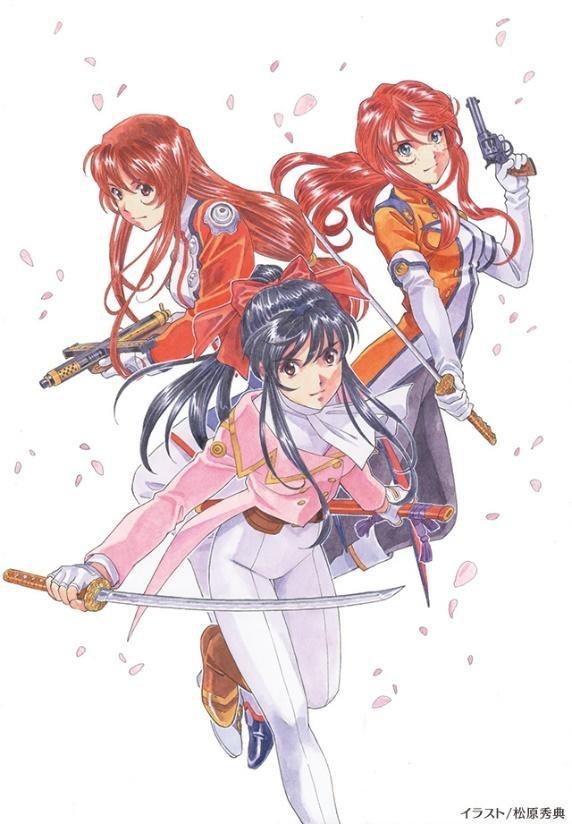「サクラ大戦 OVAシリーズ Blu-ray Box」パッケージ写真 35,000円(税別)(C)1997 SEGA/BANDAI VISUAL/MARINE ENTERTAINMENT(C)1999 SEGA/BANDAI VISUAL/MARINE ENTERTAINMENT(C)2002 SEGA / RED(C)2003 SEGA / RED(C)2004 SEGA / RED(C)2007 SEGA / RED