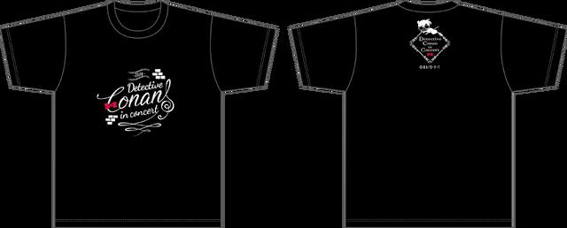 「Tシャツ2020」2,500円(税込)(C)青山剛昌/小学館・読売テレビ・TMS 1996(C)1997-2020 青山剛昌/名探偵コナン製作委員会