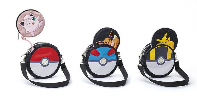 「Special Item」レア クロスボディセット  各12,500円(税抜)(C)2020 Pokemon. TM, (R) Nintendo.