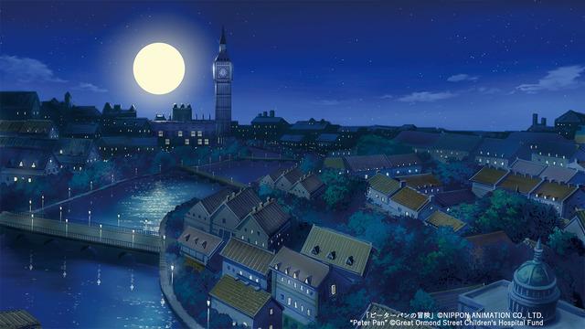 「世界名作劇場シリーズ壁紙」『ピーターパンの冒険』