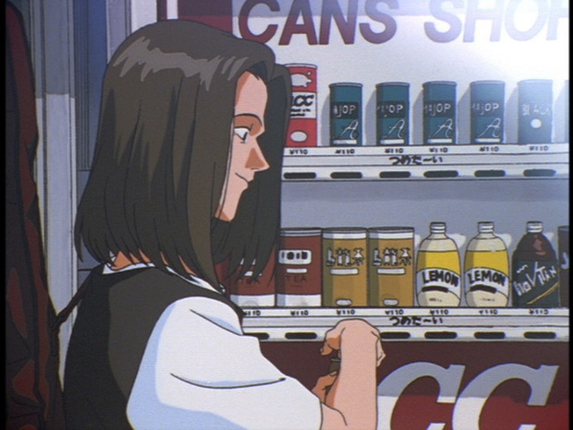 「UCC MILK COFFEE EVANGELION Final Project」アニメにUCCミルクコーヒーに似た缶コーヒーが登場したシーン
