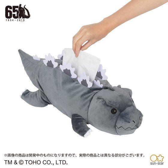 「ゴジラ ティッシュケース」4,950円(税込)TM & (C) TOHO CO., LTD.
