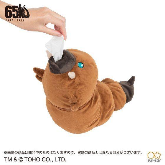 「モスラ幼虫 ロールペーパーケース」4,950円(税込)TM & (C) TOHO CO., LTD.