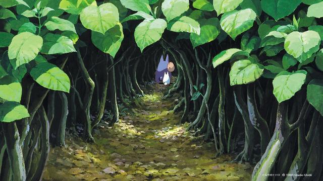 「スタジオジブリ壁紙」となりのトトロ(C) 1988 Studio Ghibli