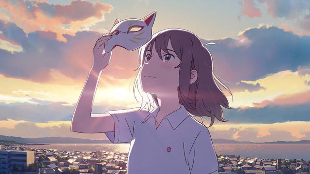 『泣きたい私は猫をかぶる』メインビジュアル(C)2020「泣きたい私は猫をかぶる」製作委員会