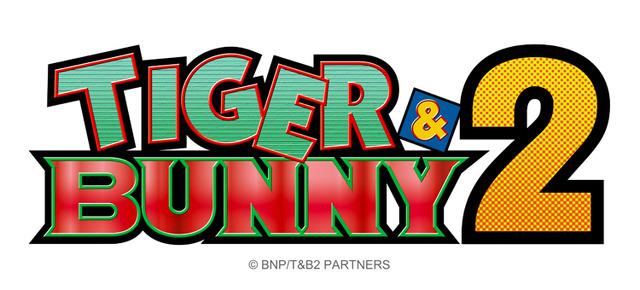 『TIGER & BUNNY 2』ロゴ(C)BNP/T&B PARTNERS