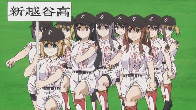『球詠』第8話先行カット(C)マウンテンプクイチ・芳文社/新越谷高校女子野球部