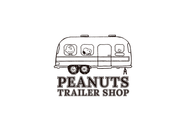 「PEANUTS TRAILER SHOP」(C) 2020 Peanuts Worldwide LLC