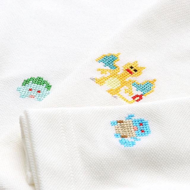 「ポケモンシャツ」ポロシャツ 8,500円~(税抜/送料別)(C)2020 Pokemon. (C)1995-2020 Nintendo / Creatures Inc. / GAME FREAK inc. ポケットモンスター・ポケモン・Pokemon