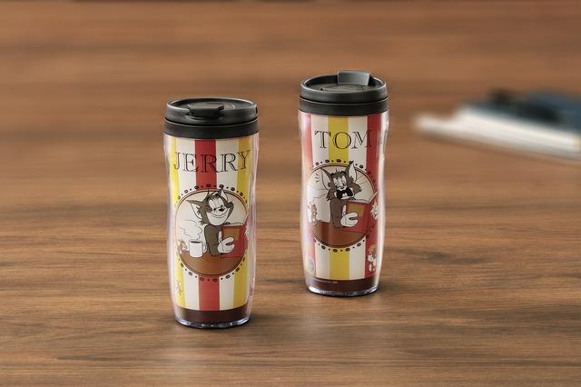 「トムとジェリータンブラー」1,600円(税抜)TOM AND JERRY and all related characters and elements (C) & TM Turner Entertainment Co. (s20)