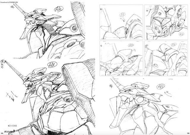 「新世紀エヴァンゲリオン 原画集 Groundwork of EVANGELION Vol.1」2,000円(税抜)(C)カラー/Project Eva.