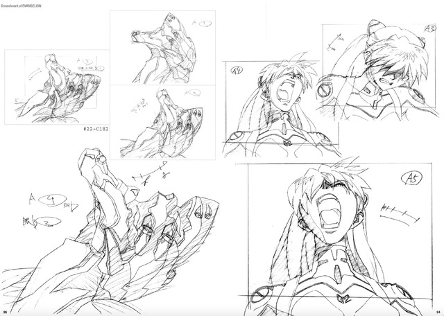 「新世紀エヴァンゲリオン 原画集 Groundwork of EVANGELION Vol.3」2,400円(税抜)(C)カラー/Project Eva.