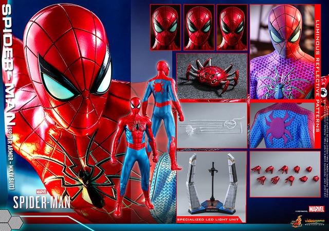 """以""""蜘蛛侠""""游戏版""""蜘蛛侠MK IV西装""""的姿态手办化!请看可动30处以上的品质-柚妹网"""