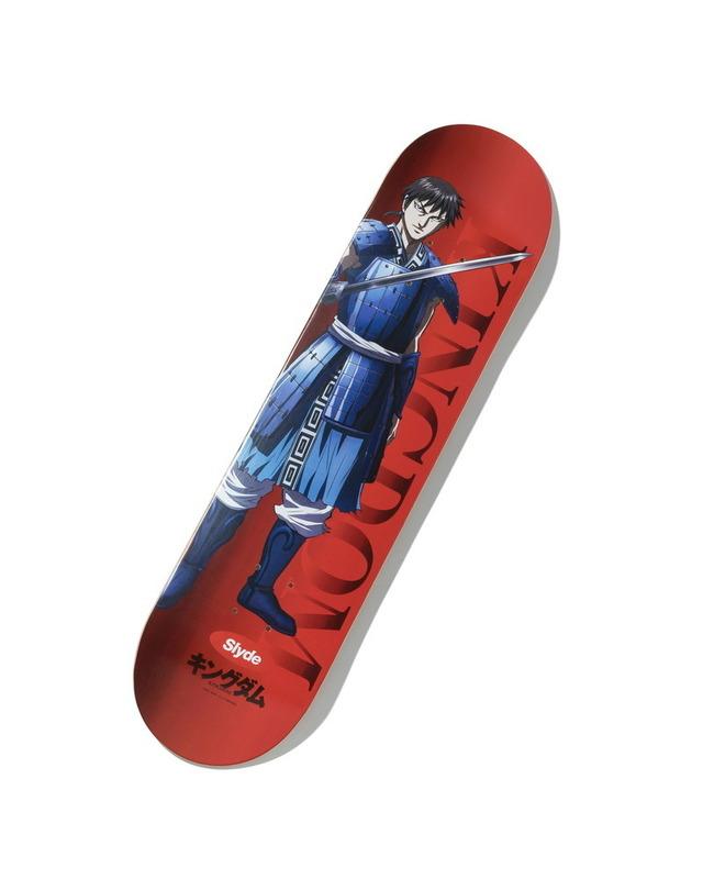 「キングダム×Slyde」スケートボードデッキ(C)原泰久/集英社・キングダム製作委員会