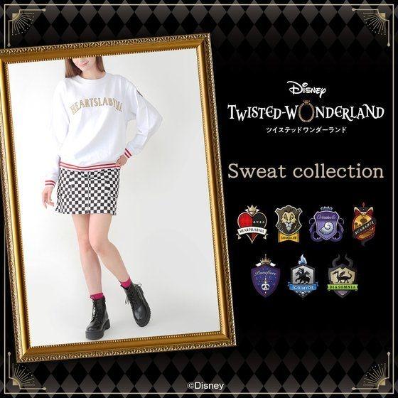 「ディズニー ツイステッドワンダーランド スウェット」7,000円(税込)(C)Disney