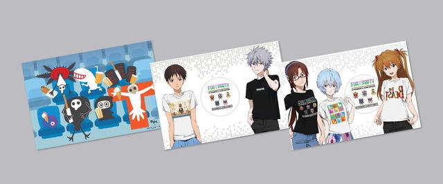 『エヴァンゲリオン』×「Tokyo Otaku Mode」特製ポストカード(数量限定・非売品)(C)khara(C)2020 TOM Inc.(C)AMUSE